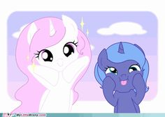 Filly Tia & Luna. SQUEEEE
