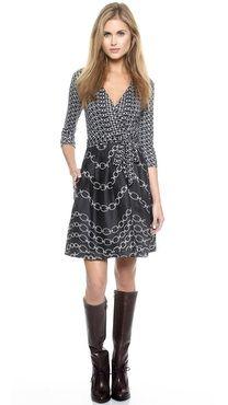 Diane von Furstenberg The Jewel Wrap Dress