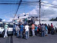 Aparatoso accidente en Guadalupe deja varios heridos leves