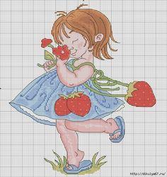 Cross Stitch *<3* Point de croix Cross Stitch For Kids, Cute Cross Stitch, Cross Stitch Borders, Cross Stitch Designs, Cross Stitching, Cross Stitch Embroidery, Cross Stitch Patterns, Stitches Wow, Cross Stitch Numbers