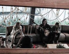ISADORA Backstage SS15 #SummerOasis #NowInCalifornia