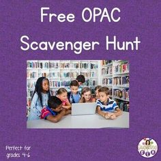 Teach your students how to use the OPAC (Online Public Access Catalog) and have them practice by utilizing this scavenger hunt. Students will look for books in different categories and record both the title of the books and the call numbers. I have students work in groups and I give the first group ... Library Activities, Teaching Activities, Teaching Resources, Teaching Language Arts, Teaching English, High School Literature, Secondary Teacher, Middle School English, Student Work
