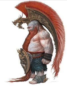 Mohawk Dwarf