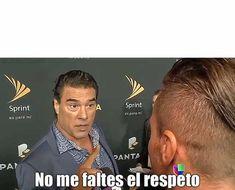 Eduardo Yañez no me faltes al respeto plantilla
