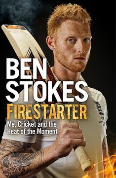 Ben Stokes is not cast in the same mould as the vast majority of English cricketers. Fiery, combative, gladiatorial - he plays the game hard and with great gusto. He is an all-rounder who bats, bowls and fields at full throttle. Cricket Books, Cricket Quotes, Slime Games, England Cricket Team, Ben Stokes, Cricket Wallpapers, Film Books, Fire Starters, Nonfiction Books