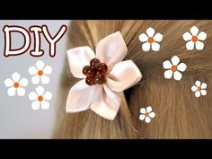 Hello, everyone in this video i want to show you how to make very easy flower hairpins.kanzashi flower hairpins.i hope you will enjoy the tutorial. Thank you so much for watching and supporting my channel.