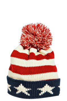 USA Bobble Hat | I should rock this for the Olympics.