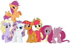Cutie mark crusaders main 6?