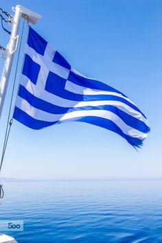 Sailing in the Aegean Sea, Greece