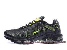 d3b7d69eb4a1 Nike Tuned 1(nike Tn 2017) Vert Noires Chaussues Nike Basket Pour  Homme-1704142884 - Les Nike Sneaker Officiel site En France