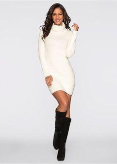 Hosszú ujjú kötött ruha lezser garbó nyakrésszel. Hossza a 36 38-as  méretben kb. 86 cm. Felső anyag  60% akril 7b27b0ce1b
