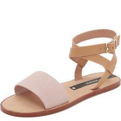 Matt Bernson Estela Sandals (€120) ❤ liked on Polyvore featuring shoes, sandals, leather sandals, leather shoes, wrap around sandals, real leather shoes and leather footwear