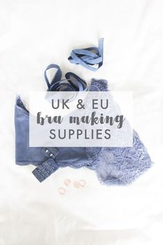 Sewing Tops List of top bra / lingerie making supplies in the UK and EU - The big bad list of great places to buy fabric online, tried and true places for a range of budgets. Lingerie Patterns, Sewing Lingerie, Bra Lingerie, Sewing Hacks, Sewing Projects, Sewing Tips, Sewing Ideas, Buy Fabric Online, Make Your Own Clothes