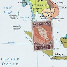 The Federation of Malaya (which later becomes Malaysia), comprising Johor, Kedah, Kelantan, Malacca, Negeri Sembilan, Pahang, Penang, Perak, Perlis, Selangor and Terengganu, is formed 1 February 1948. http://www.zeboose.com/asia/c69?sc1=87&sc2=88&sc3=52&sc4=47&sc5=50&sc6=49&sc7=51&sc8=53&sc9=55&sc10=54&sc11=56&sc12=82&sc13=57&p=1