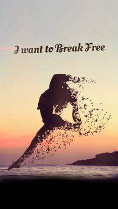 Break free! #foreveryoung