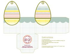 I Still Love You by Melissa Esplin: Easter Egg Basket Printable