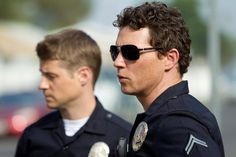 Officer Ben Sherman and Detective Sam Bryant of Southland.