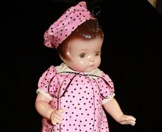 effanbee dolls | Patsy Ann is an original 1930s Effanbee composition Patsy Doll