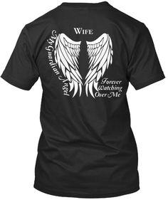 Wife Guardian Angel T-Shirt
