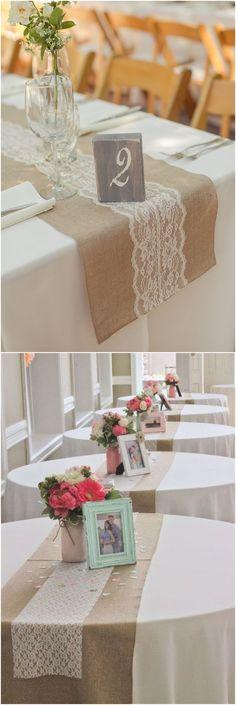 20 Rustic Burlap Wedding Table Decor Ideas #weddings #weddingideas #rustic #weddinginspiration
