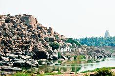 Tungabhadra River, Hampi India