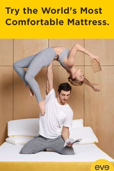 Every great day starts the night before. That's why we created eve—the ultimate mattress that balances comfort, coolness, durability and just the right amount of bounce. We're so confident in our mattress that we let you try it in the comfort of your own home, risk free for 100 nights. Free shipping & hassle-free returns. Click Here: