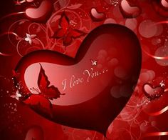 Heart  --  I love you