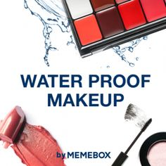 Bits and Boxes: Memebox Releases WaterProof Cosmetics and Zero Cos...