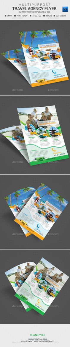 Want fantastic ideas concerning traveling? Go to my amazing info! Free Flyer Templates, Business Flyer Templates, Print Templates, Business Card Design, Travel Brochure, Brochure Design, Flyer Design, Promotional Flyers, Holiday Hotel