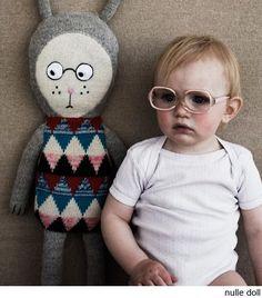 Lucky Boy Sunday Nulle Doll: Made of 100% alpaca, 70 cm tall.
