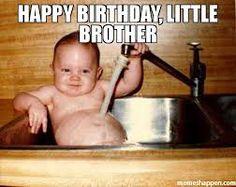 Afbeeldingsresultaat voor happy birthday little brother