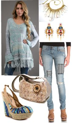 """Bohemian Chic ~CMD Norcal~"" by chicroo on Polyvore"