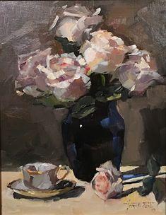 Fruit Painting, Painting Art, Floral Illustrations, Flower Art, Art Flowers, Art Studies, Art Techniques, Paintings For Sale, Impressionist