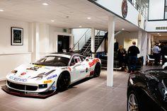 Ferrari 458 racing car