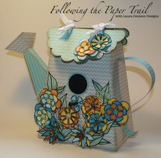 Laura Denison as Following the Paper Trail with the July Bird Abode; 2013