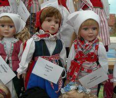 Scan-dolls, Dalarna Sweden