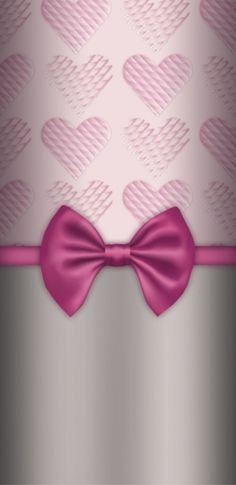 Bow Wallpaper, Pink Wallpaper Iphone, Phone Wallpapers, Wallpaper Backgrounds, Ribbons, Girly, Colorful, Pretty, Vintage