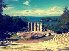 The Amphitheater, Misibis Bay, Cagraray Island, Albay, Philippines