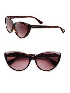 e3d5180338 Tom Ford Eyewear - Martina Classic Cateye Sunglasses - Saks.com Sunnies  Sunglasses