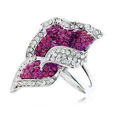 Moda 925 anel de prata mulheres anéis Flor