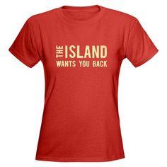 The Island (Lost TV) Women's Dark T-Shirt #cafepresspinfest