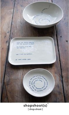 Kylie Johnson: Poet and Ceramicist — - beautiful Kylie Johnson ceramics Pottery Painting, Ceramic Painting, Ceramic Clay, Ceramic Plates, Diy Clay, Clay Crafts, Pottery Bowls, Ceramic Pottery, Kylie Johnson