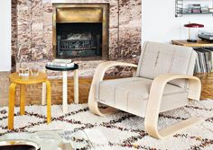 "Sessel ""400"" Tank Chair, Entwurf Alvar Aalto, Redesign Hella Jongerius - Artek - Designklassiker im neuen Gewand by Design Bestseller"
