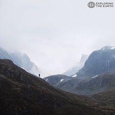 Exploration & Photo by @jasonbillies Location / Jotunheimen National Park, Norway