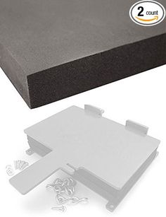 2 Sheets of Sheath/Holster Making Foam - Thermoform Molding - (8 x 12 x 1 1/2)