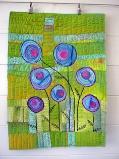 Another scrap bag project by Deborah O'Hare Quilt Routes, via Flickr