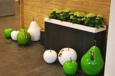 tuindecoratie appels, peren en kersen nieuw