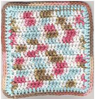 Beginner Washcloth By Pam G - Free Crochet Pattern - (crochetparfait.blogspot)