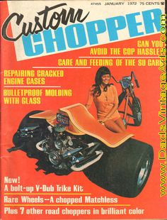1972 Instant Chopper – The V-Dub Trike Kit – a bolt-together trike to fit any VW powerplant