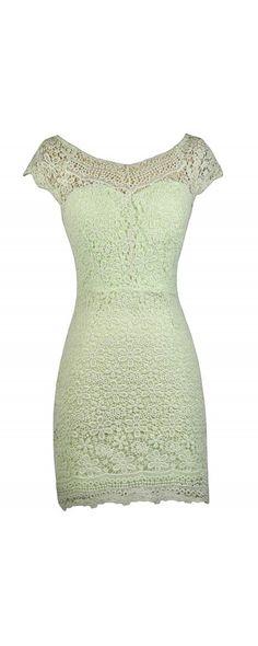 Lily Boutique Camryn Crochet Lace Sheath Dress in Lime , $44 Lime Crochet Lace Sheath Dress, Cute Lace Dress, Lace Sheath Dress, Bright Green Lace Dress www.lilyboutique.com